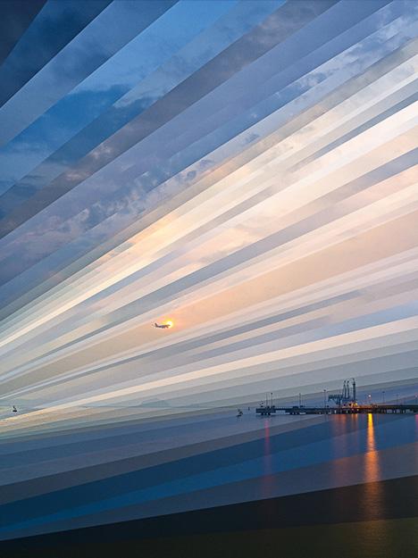 time lapse rays light