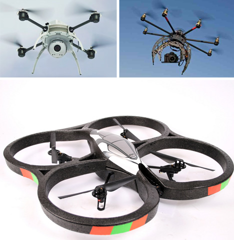 unmanned aerial vehicle types