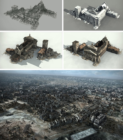 warsaw detailed reconstruction photo