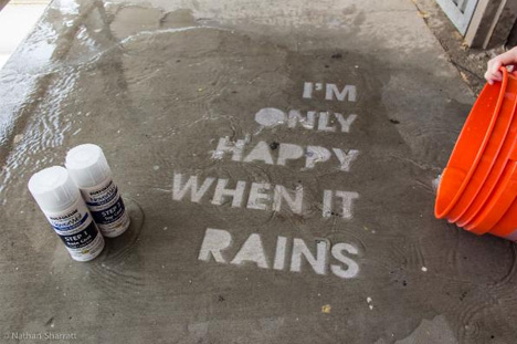 wet only graffiti