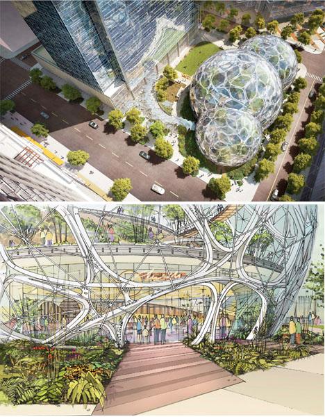 Amazon Biosphere Headquarters Seattle 2