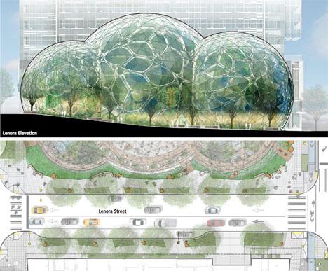 Amazon Biosphere Headquarters Seattle 4