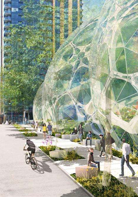 Amazon Biosphere Headquarters Seattle 6