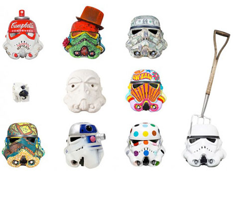 Art Wars Stormtrooper Helmets 1