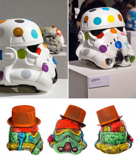 Art Wars Stormtrooper Helmets Get A Colorful Makeover Urbanist