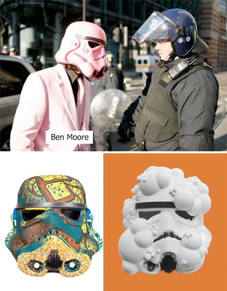 Art Wars Stormtrooper Helmets 4