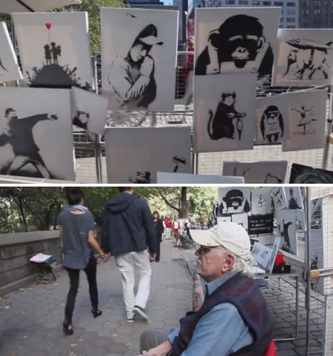Banksy New York City Sale 2