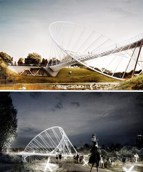 Concept Bridge Design Elliptical