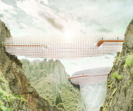 Concept Bridge Design Parametric Cloud 1
