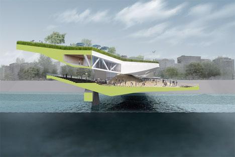 Concept Bridge Designs Habitable Seville 2