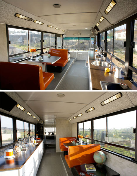 Schools Out Forever 12 Crazy DIY Converted Bus Homes Urbanist