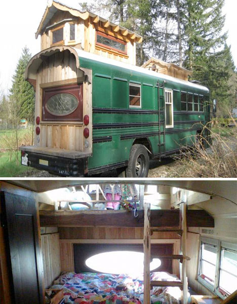 School S Out Forever 12 Crazy Diy Converted Bus Homes