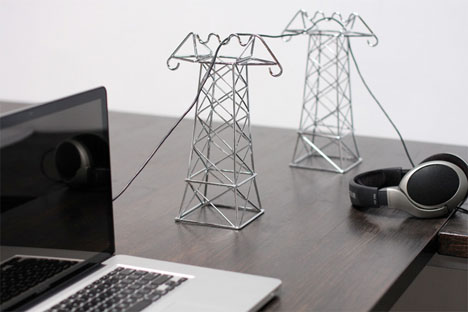 Cord Organizers Power Lines