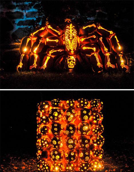 Dinosaur Pumpkins Jack O Lanterns 4