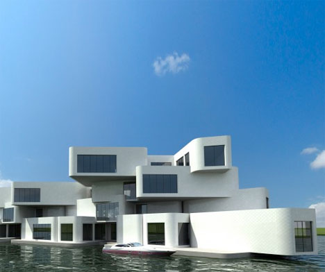 Floating Apartments Netherlands 1