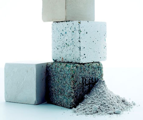 Future Building Materials Carbon Eating Cement