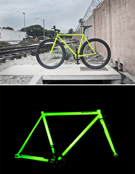 Glow in the Dark Bicycle