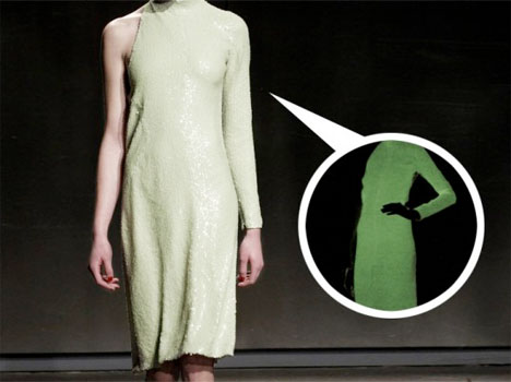 Glow in the Dark Halston Gown