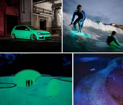 Glow in the Dark Tech Applications