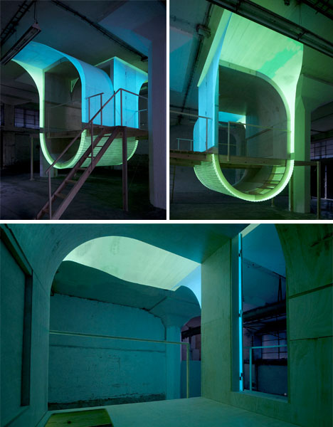 Glow in the Dark Urban Dwelling
