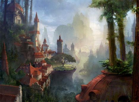 Imaginary Landscapes Forest