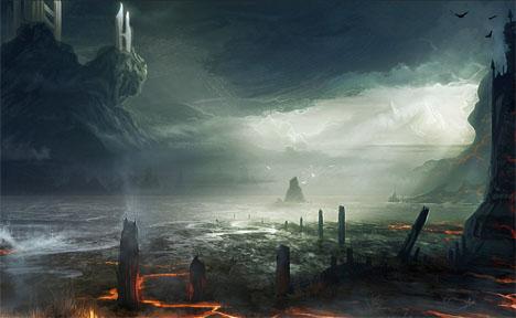 Imaginary Landscapes Hallowed Isle