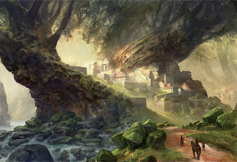 how to develop story in fictional futuristic place
