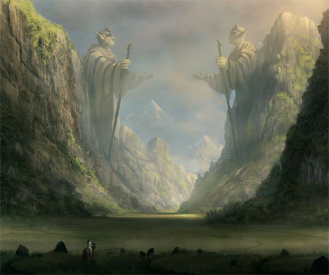 Imaginary Landscapes Through the Ancient Valley