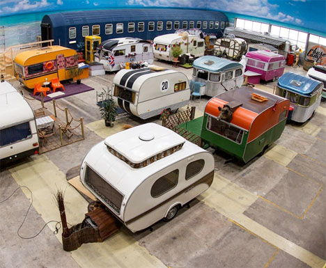 Indoor RV Campground Hostel 1