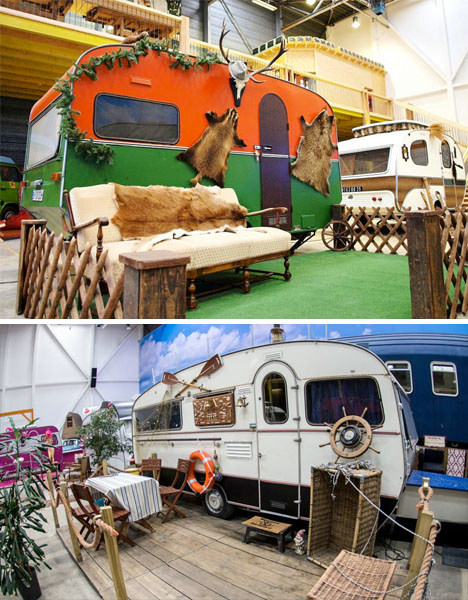 Indoor RV Campground Hostel 4