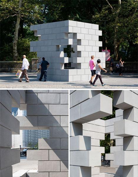 Interactive Urban Art Concrete Playground