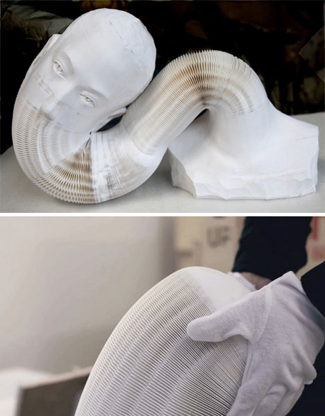 Paper Sculpture Hongbo 2