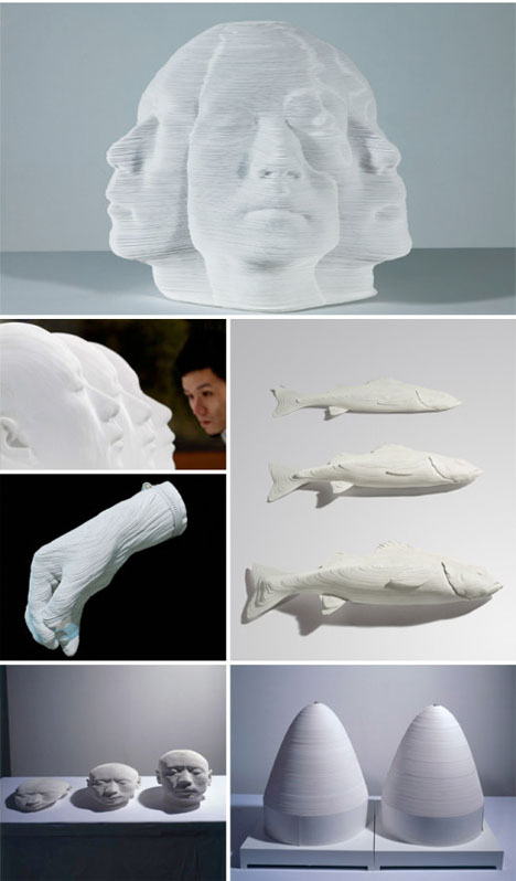 Paper Sculpture Li Hongjun