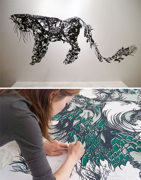 Paper Sculpture Nahoko 1
