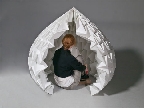 Paper Sculptures Dome Kelsey