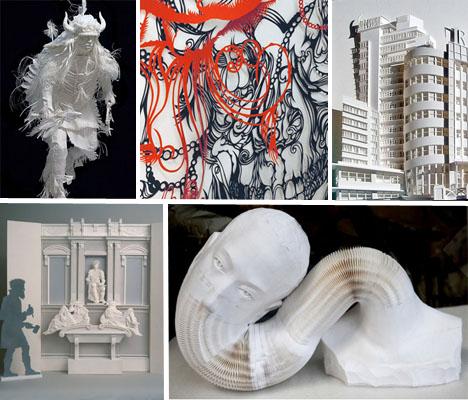 Paper Sculptures Main