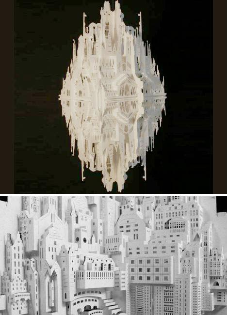 Paper Sculptures Siliakus