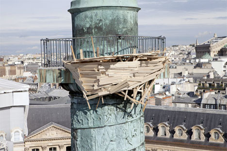 Place Vendome Bird Nest Installation 3
