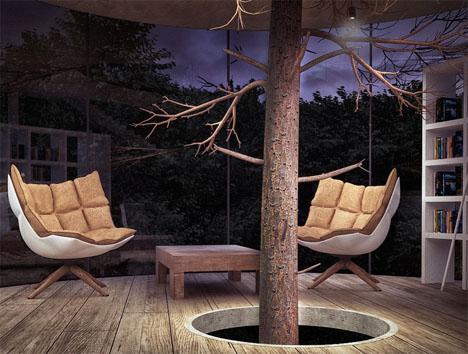 Tree Glass House 4