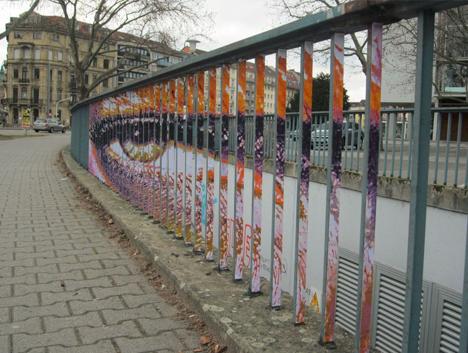 angle graffiti evil eye