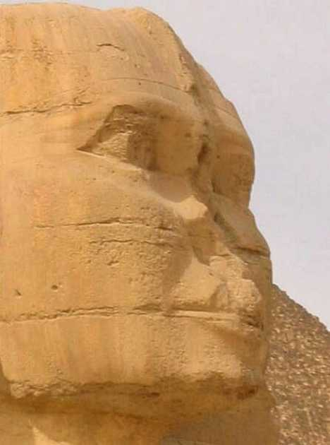 Great Sphinx Giza nose
