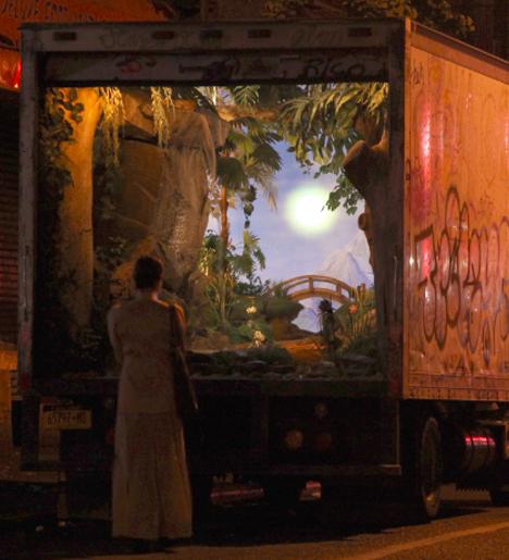 banksy big truck mural