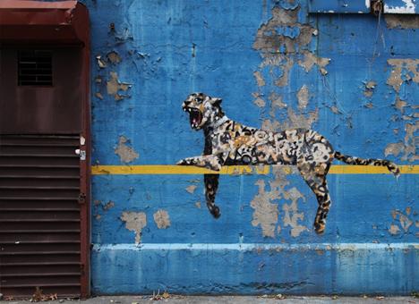 banksy perched cat stadium