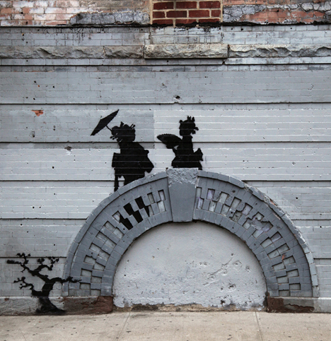 banksy protected new york