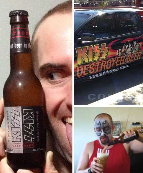 KISS Destroyer beer