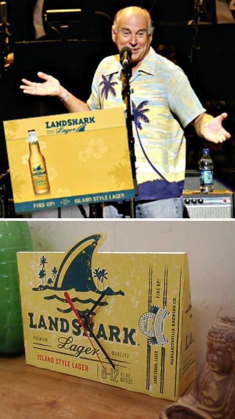 Jimmy Buffett Land Shark Lager beer