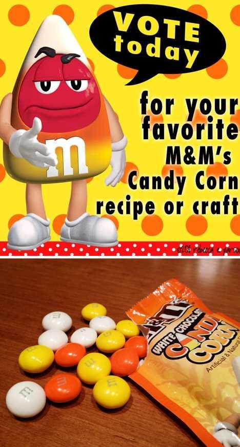 M&M's White Chocolate Candy Corn