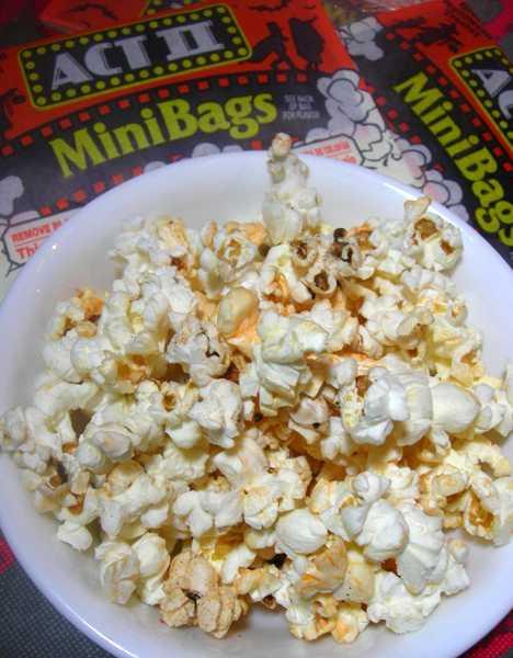 ACT II candy corn microwave popcorn