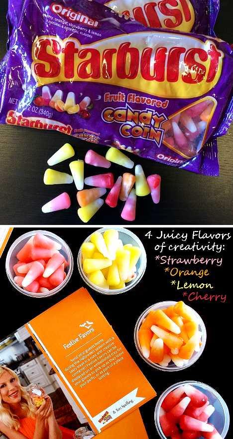 Starburst Candy Corn fruit chews