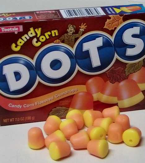 Candy Corn DOTS Halloween